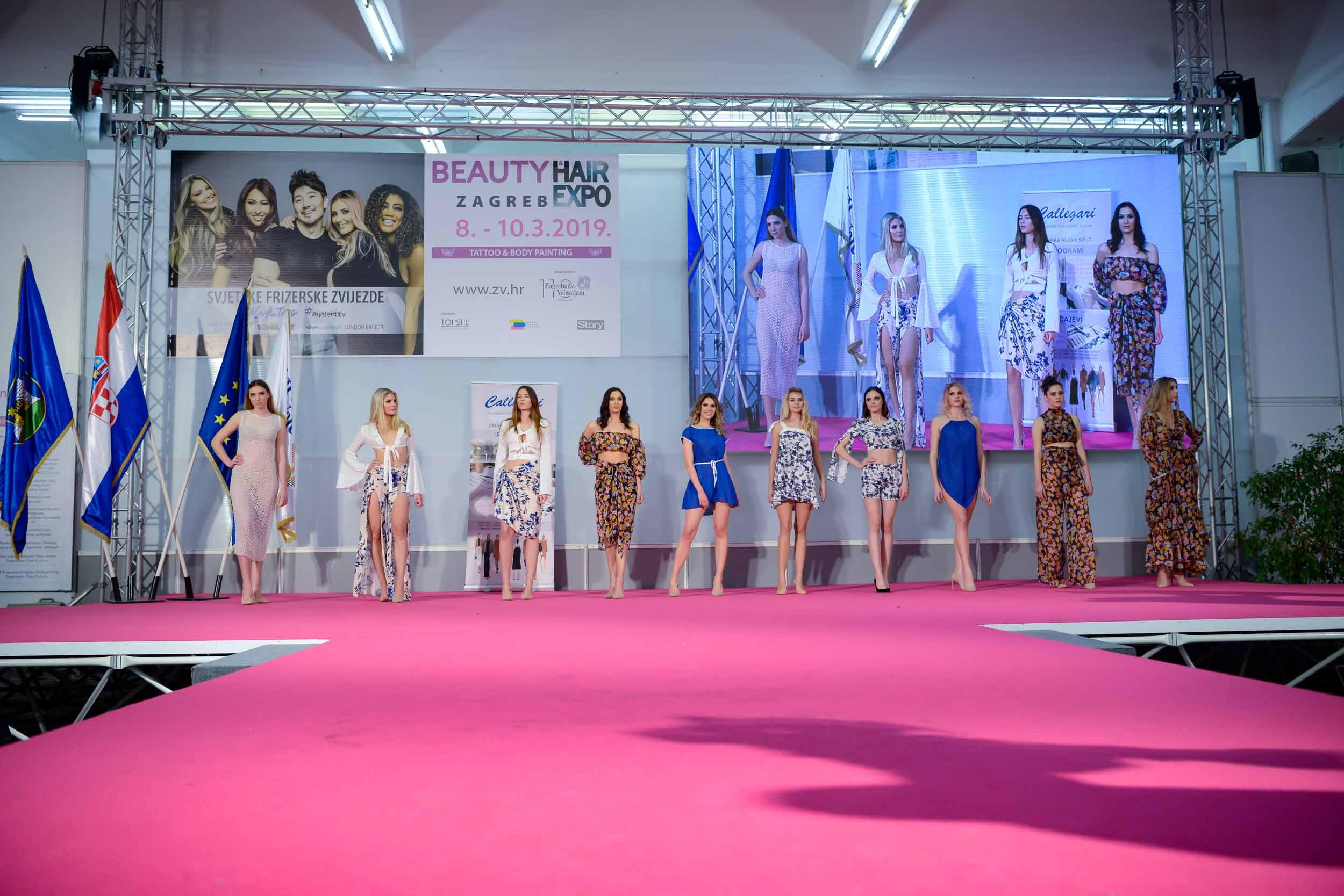 Beauty & Hair Expo Zagreb 2019: Ljetni stajling i make up za najljepše Hrvatice u Callegarijevoj izvedbi