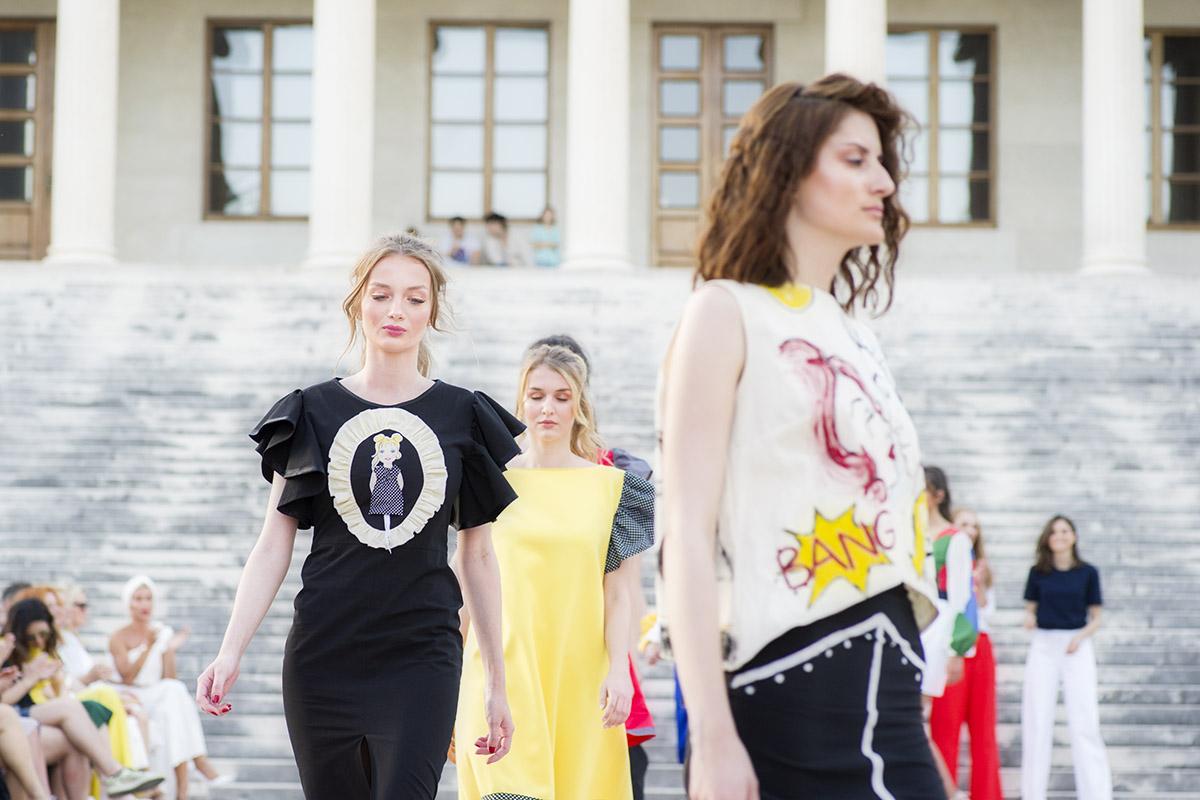 Pop Art kreacije Callegarijevih đaka na Meštrovićevoj modnoj pisti