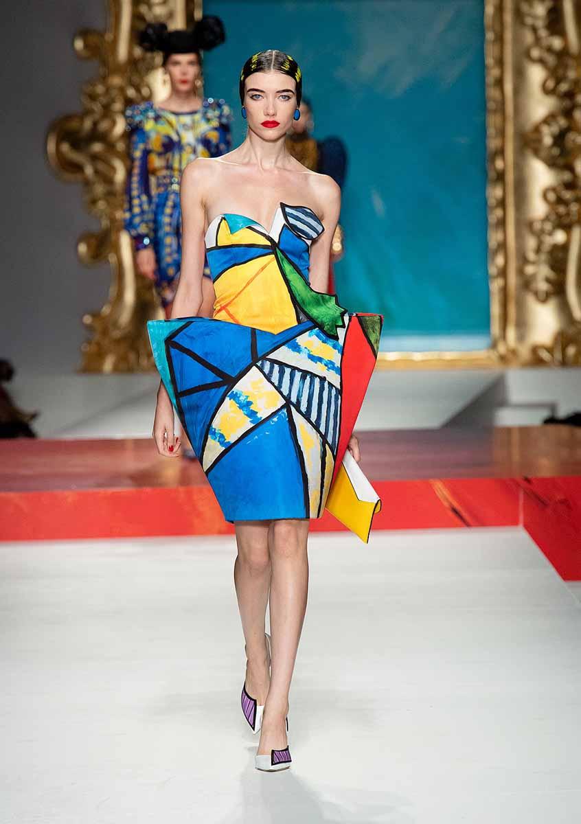 Milan Fashion Week - kolekcija modne kuće MOSCHINO inspirirana Picassom