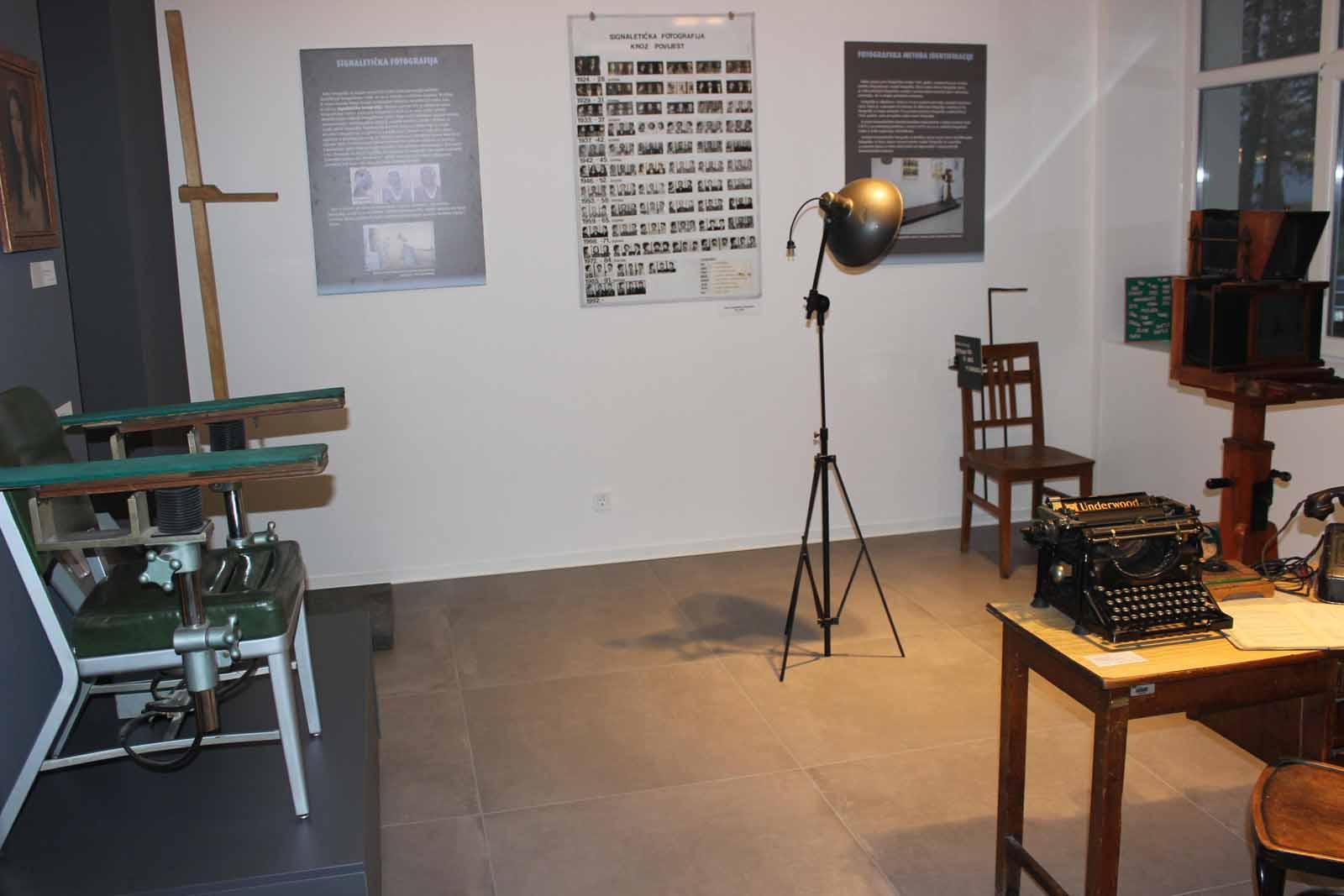 Projekt dizajniranja interijera - MUZEJ POLICIJE u Zagrebu