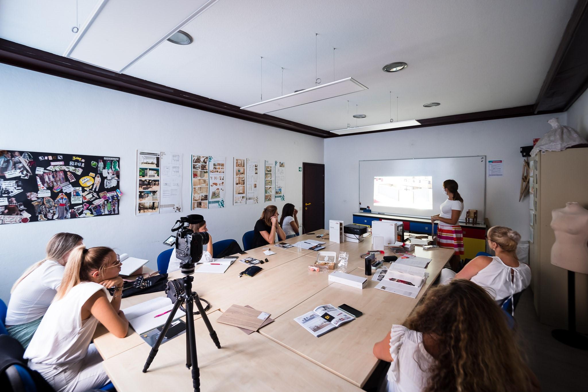 DIZAJN INTERIJERA u središtu suradnje tvrtke MAX & MORIS i škole CALLEGARI