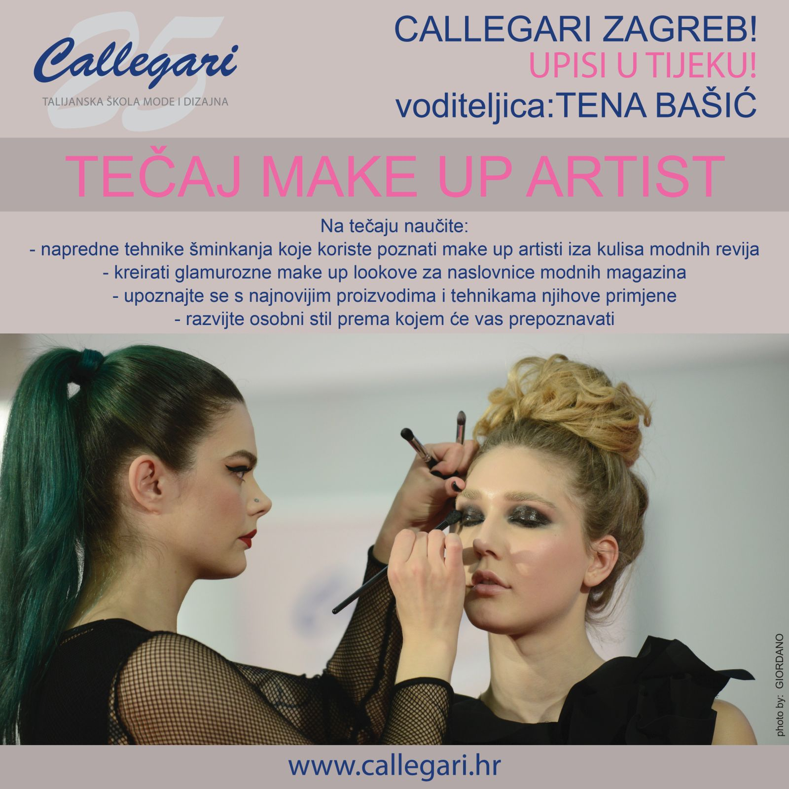 TEČAJ MAKE UP ARTIST